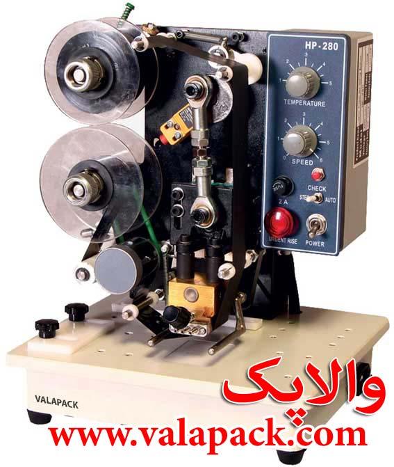 دستگاه چاپ تاریخ و قیمت نیمه اتوماتیک